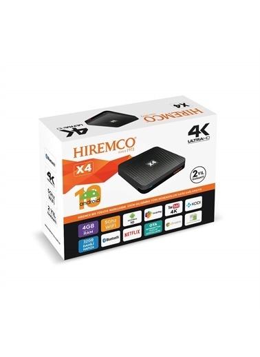 Hiremco Hiremco X4 4K Ultrahd Android Tv Box Renkli